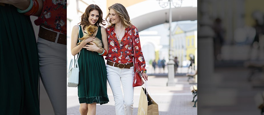White Night Shopping в Outlet Village Пулково