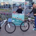 В Санкт-Петербурге проходит акция На работу на велосипеде