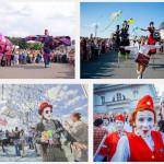 Фото с фестиваля уличных театров в Санкт-Петербурге