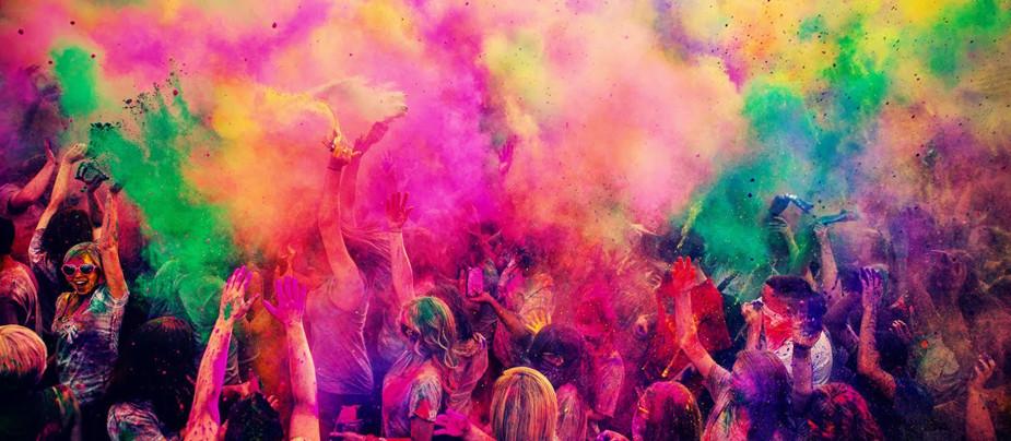 Фестиваль красок в СПб 2015