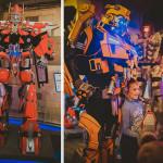 Выставка шоу роботов трансформеров ROBOLAND