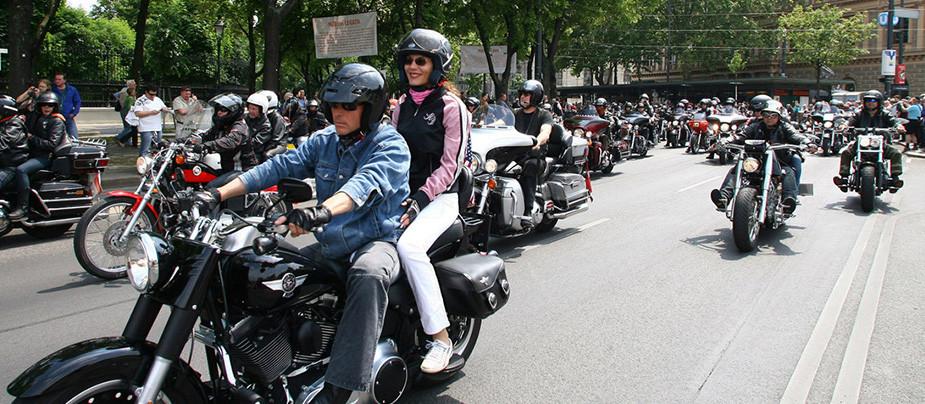 Фестиваль St. Petersburg Harley Days 2015