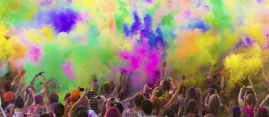 Фестиваль красок THE COLOR PARTY