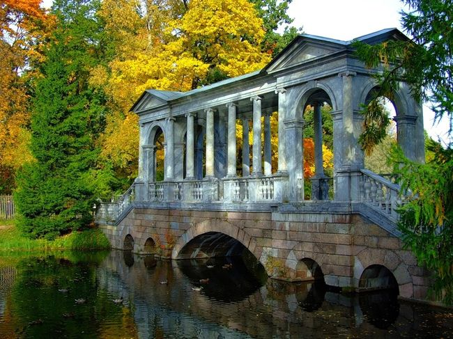 Пушкин. Екатерининский парк