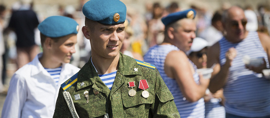 День ВДВ 2015 в Санкт-Петербурге