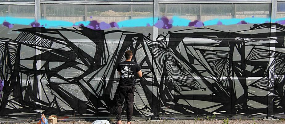 Ежегодный граффити фестиваль Arton BBQ