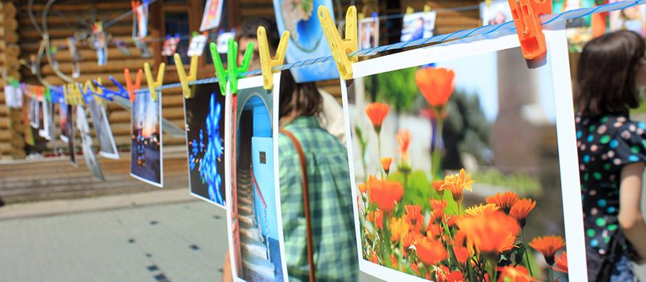 Фестиваль «Фотосушка» в яблоневом саду