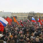 Митинг в защиту Санкт-Петербурга