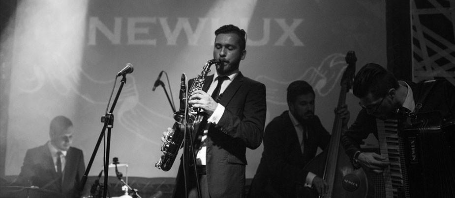 Идеальный вечер пятницы или концерт джаз-бенда NEWLUX