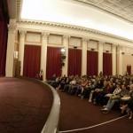 Лауреаты фестиваля «Начало» в киноцентре «Ленфильм»