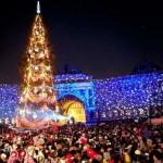 Новый год 2016 на Дворцовой площади