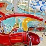 Праздник воды в новом аквапарке Петербурга