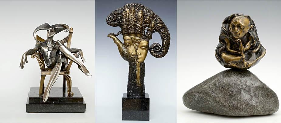 «Рождение скульптуры». Выставка группы художников