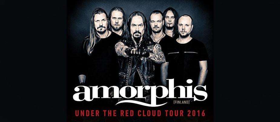 """Концерт Amorphis (FIN) в """"Зале Ожидания"""""""