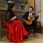 Концерт Евгения Маркова (домра) и Владимира Кирасирова (гитара)