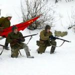 """Военно-историческая реконструкция """"За Ленинград!"""