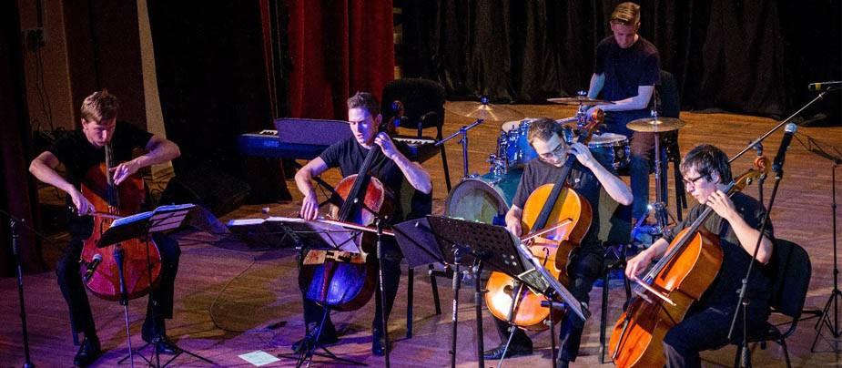 Выступления питерского коллектива The Cello Quartet
