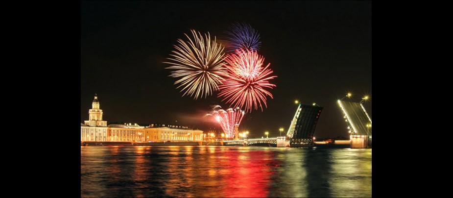 День города Санкт-Петербурга 2018 салют салют