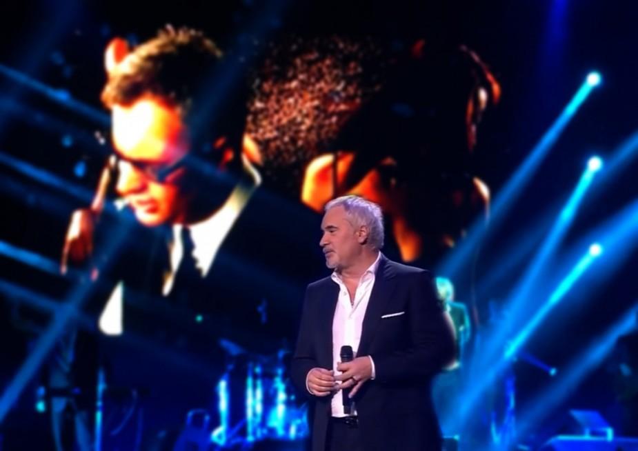 Валерий Меладзе дал сольный концерт в Ледовом дворце Гостеприимного курорта «Игора»