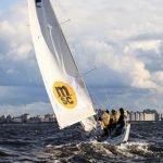 Первая молодежная парусная регата Makarov Sailing Cup на Финском заливе