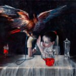 """Выставка Ирины Дрозд """"Тихие Игры"""" в галерее Anna Nova"""