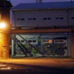 Ночь кемпинга в Музее стрит-арта