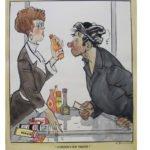 "Выставка карикатуры Жозефа Ефимовского «Мастер ""Боевого карандаша"""