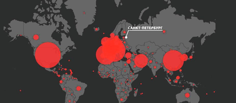 Сколько заболевших коронавирусом в СПб на сегодня