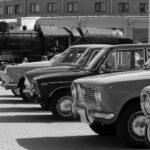 Весенний парад ретротехники в Музее железных дорог России