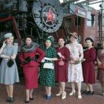 Празднование Дня Победы в Музее железных дорог России