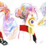 "Онлайн-лекция Максима Сергеева ""Рисуем портрет в стиле коллаж"""