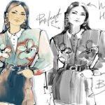 """Онлайн-воркшоп с Юлией Мавляновой """"Fashion-скетч с нуля"""""""